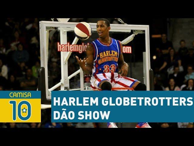 Harlem Globetrotters DÃO SHOW em São Paulo!