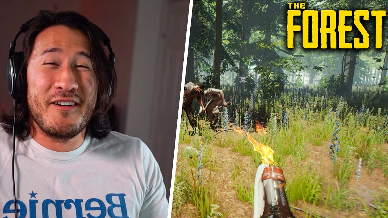 Markiplier Plays The Forest (6 July 2021) TWITCH STREAM