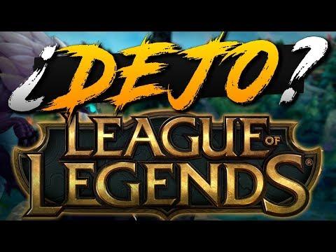 ¿DEJO LEAGUE OF LEGENDS? thumbnail