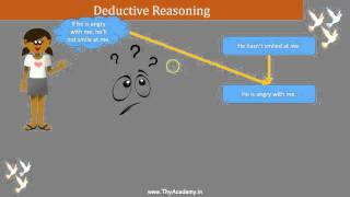 2. Deductive Reasoning - CBSE NCERT Class 9 Appendix 1 (in Hindi)