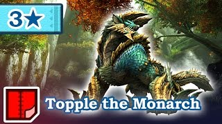 let s play monster hunter generations 83 3 topple the monarch