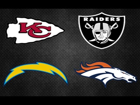 2016 AFC WEST PREVIEW & PREDICTIONS