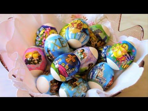 Как правильно варить яйца для пасхи .Варка яиц вкрутую .
