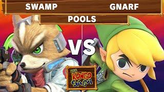 2GG Kongo Saga - GN | Swamp (Fox) VS SM | Gnarf (Toon Link) - Smash Ultimate - Pools