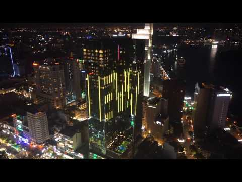 Skydeck - The View from the Bitexco Tower in Saigon