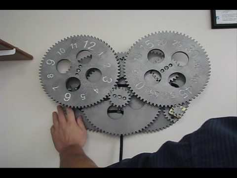 Gear Clock Youtube