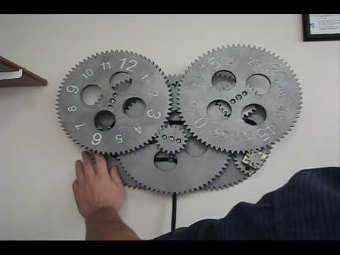 Gear Clock Youtube