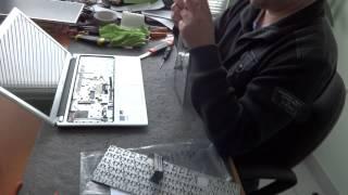 видео Ремонт ноутбука Acer Aspire V7-581