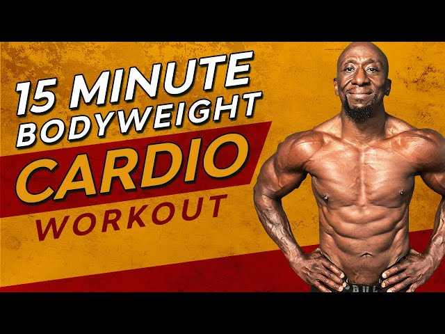 15 Minute Bodyweight HIIT Workout – Cardio, Fat Loss, No Equipment