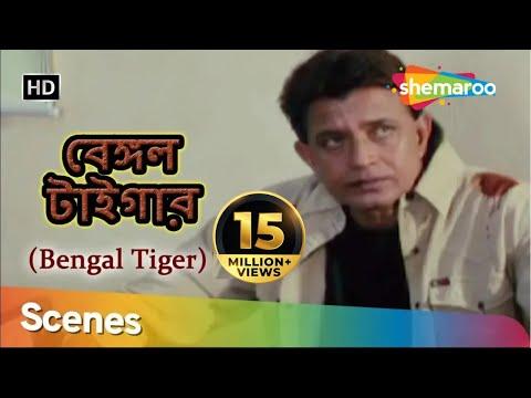 Bengali Tiger   Mithun Chakraborty   Roshini Jaffrey   Action Scenes   Bengali Superhit Movie