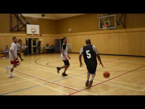 2017 Surrey Fall League- Cloverdale Brodies vs Timberwolves - Roundball BC Mens Basketball League