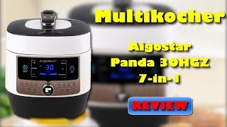 Aigostar Panda 30HGZ  7 in 1 Multikocher - Lohnt sich der Kauf ?