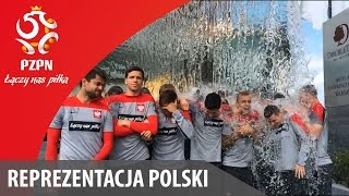 #IceBucketChallenge w wykonaniu Reprezentacji Polski/ Polish national team does #IceBucketChallenge