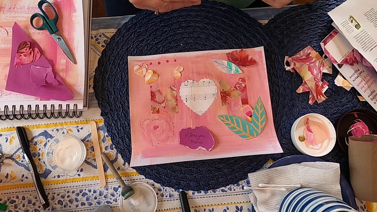 Handmade Mother's Day Collage (Part 3)