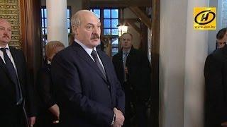 Президент обязал возбудить уголовные дела по итогам посещения льно- и мясокомбината в Слуцке
