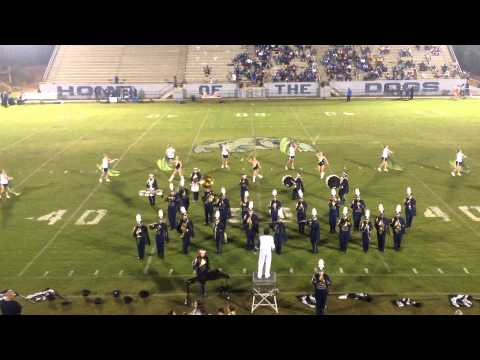 Dora High School Marching Band, the Pride of Walker County 2014 Halftime Show 9/12/2014