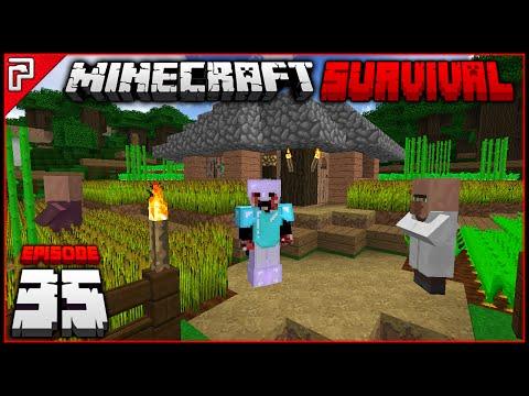 Villagers & Wither Skulls! | Minecraft 1.10 PC | Python Plays Minecraft Survival [S2 - #35]