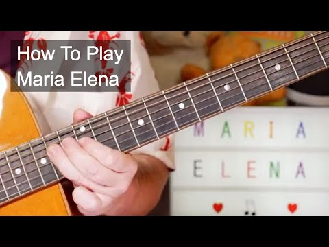 'Maria Elena' Los Indios Tabajaras Guitar Lesson