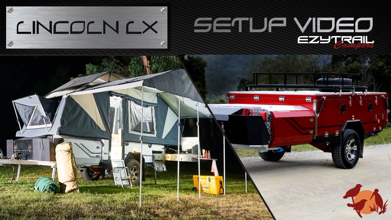 Ezytrail Campers Lincoln LX Setup Guide