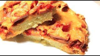 ПИЦЦА ЛЕНТЯЙКА Рецепт ПРОСТОЙ и вкусной ленивой пиццы в духовке Дело вкуса