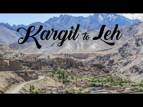 Kargil to Leh - TimeLapse video in 4K