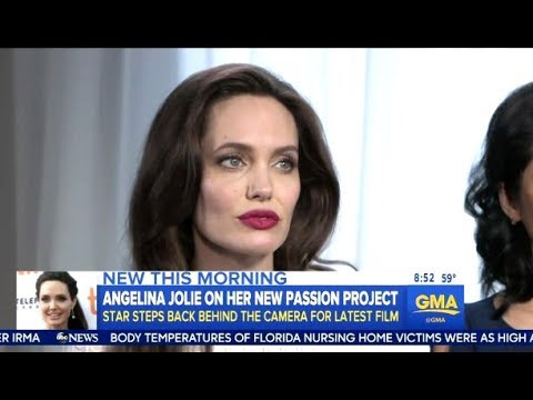Angelina Jolie (First They Killed My Father) - GMA