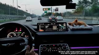 제네시스 GV80 2.5T 2륜, 강변북로 간단 주행영…