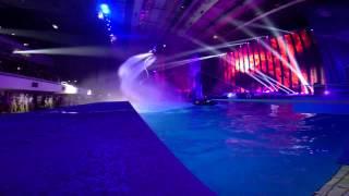 Флайборд Шоу, Москва, Россия - Шоу олимпийских чемпионов 2014
