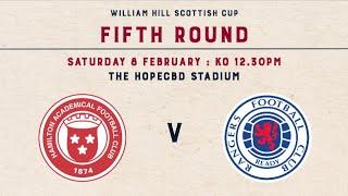 Hamilton Academical 1-4 Rangers | William Hill Scottish Cup 2019-20 – Fifth Round