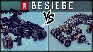 Super Besiege Multiplayer Battle Challenge    Besiege Multiplayer