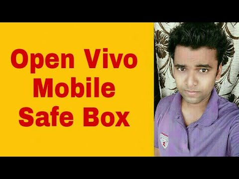 How to Open Safe Box In Vivo Mobile In Seconds
