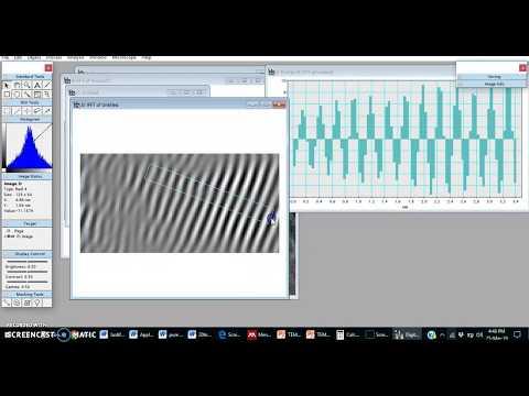 HRTEM Analysis | Gatan Software | D-spacing | IFFT Image