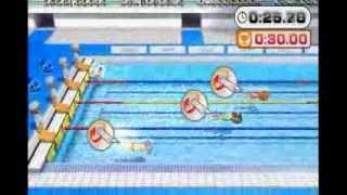 【実況】 Wii パーティー U  ミニゲーム 34番目 へんてこ水泳大会 thumbnail