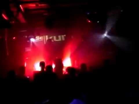 Die Kur live at Slimelight (Electrowerkz) with Angelspit