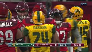 Arizona Hotshots vs. San Antonio Commanders | AAF Week 8 Game Highlights
