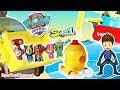 PAW PATROL Sea Patrol Nickelodeon Surprise Toys Magic Rescue + Blaze Monster Machines & Disney Cars
