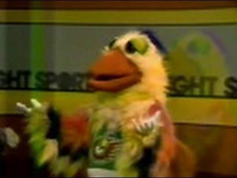 """WSNS Channel 44 - Sports Spotlight Jim Durham - """"The San Diego Chicken"""" (Part 3, 1979)"""