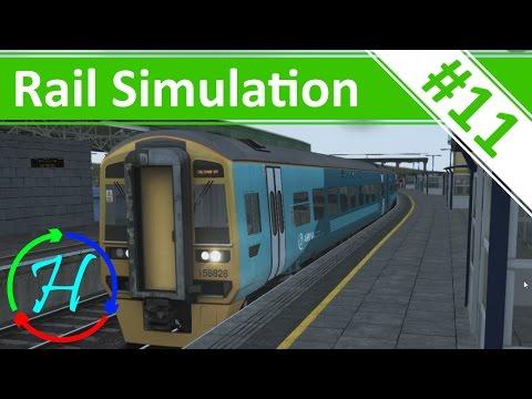 Cardiff to Cheltenham Spa - Class 158 - Ep.11 - Train Simulator 2016
