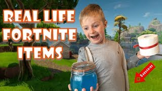 Real Life Fortnite Items (Part 1)