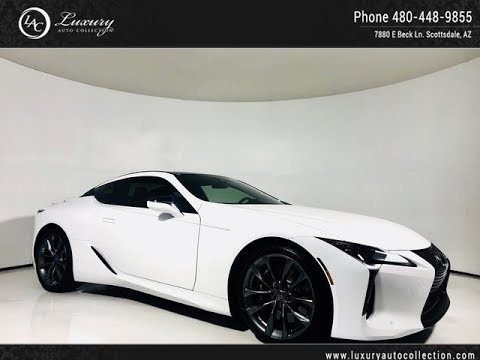 2027 2018 Lexus Lc Lc 500 Performance Pkg For Sale Scottsdale