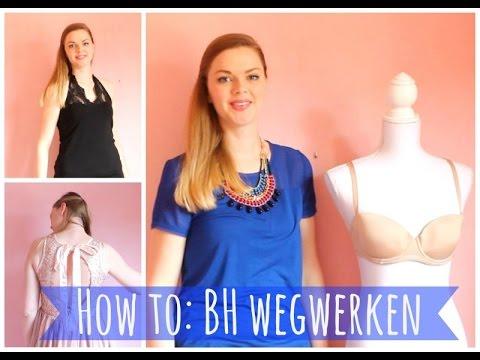 How To Bh Wegwerken Bij Een Blote Top Jurk Open Back