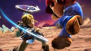 Super Smash Bros. Ultimate - Link Combo Exhibition