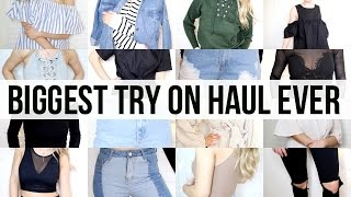 Spring Try On Clothing Haul