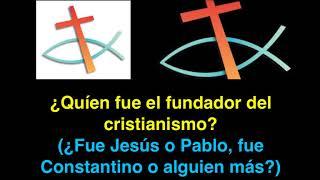 ¿Quién fue el fundador de la religión cristiana?