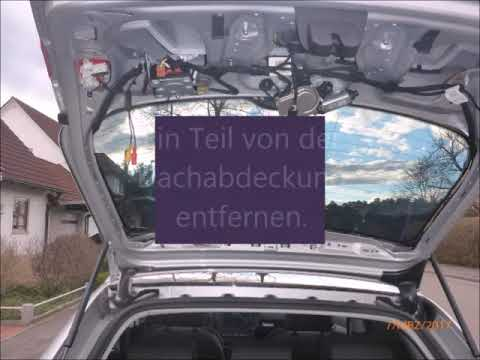 Audi a3 8P BJ 2008 Rückfahrkamera einbauen
