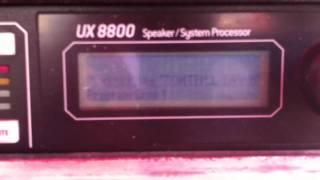 EAW UX 8800 Processor