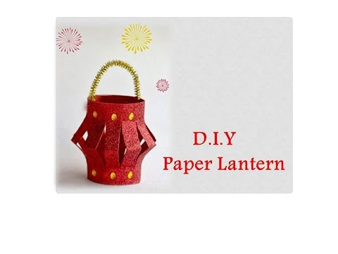 DIY Paper Lantern | Kandil Decoration for Kids | Easy DIY