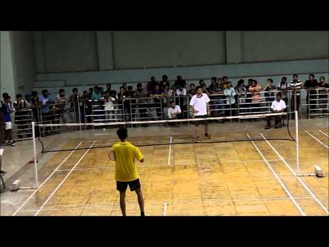 Inter hall badminton Final