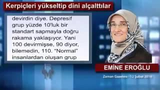 Kerpiçleri yükseltip dini alçalttılar - Emine Eroğlu