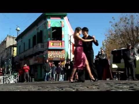 ASI SE BAILA EL TANGO - LA BOCA - BUENOS AIRES ARGENTINA